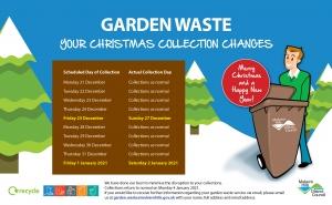 christmas garden waste collection 2020